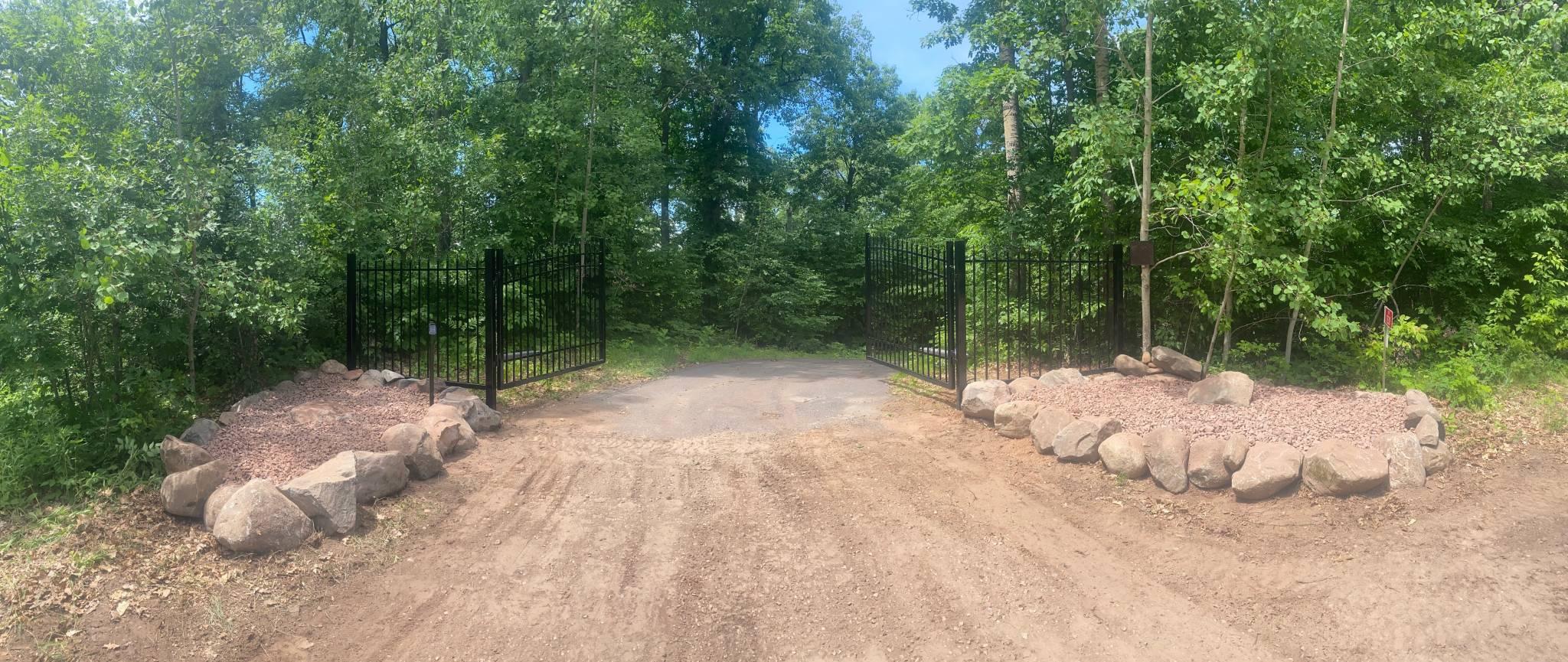 Custom Metal Driveway Gates