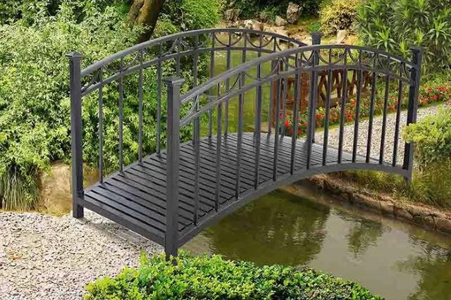 Arched Garden Bridges
